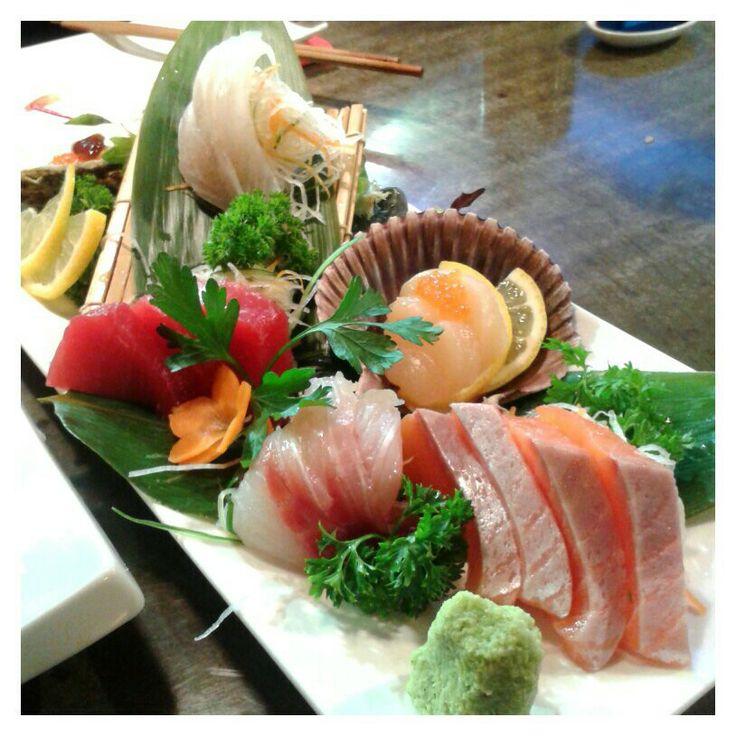 Almost the best sashimi plate i had. Izakaya Kuroki, Chatswood, Sydney.