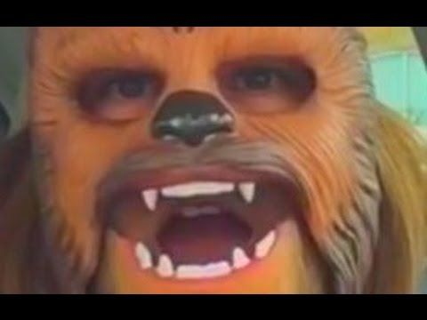 LAUGHING CHEWBACCA MASK LADY (FULL VIDEO) Such a happy Chewbacca!, Conta...