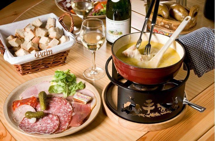 La cocina francesa: recetas y noticas de la gastronomía de Francia: La Fondue Saboyana (La Fondue Savoyarde)