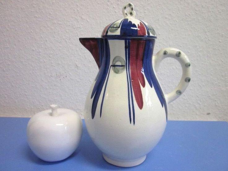 Seltene grosse Kanne Kaffeekanne - Hedwig Bollhagen - Velten Vordamm um 1928