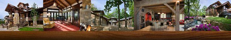 Tennessee Log Home Builder, Custom Log Home Builder Nashville, Log Home Floor Plans, Commercial Log Builder