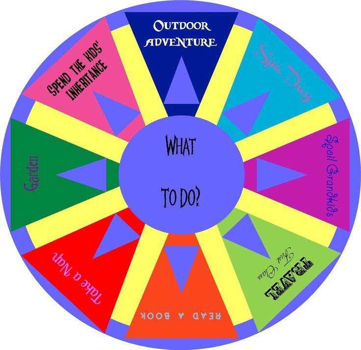 for retirement 'wheel of fortune' | Odds & Ends | Pinterest
