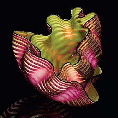 Royal Raspberry Seaform ..Chihuly 2007 - Anything Chihuly!