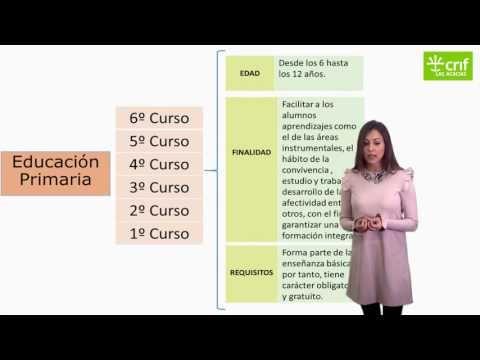 (72) Etapas sistema educativo Mooc Convivencia Escolar para Familias - YouTube