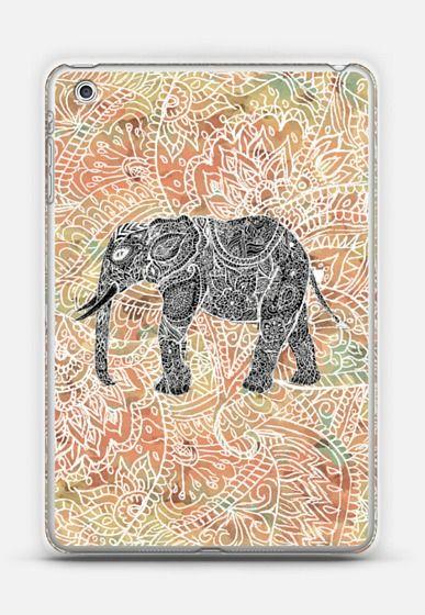 Tribal Paisley Elephant Colorful Henna Pattern Ipad Mini iPad Mini 1/2/3 case by Girly Trend | Casetify