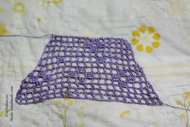 Crochet short sleeves ideas