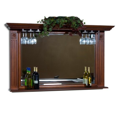 Find it at the Foundary - Edison Bar Mirror - Suede