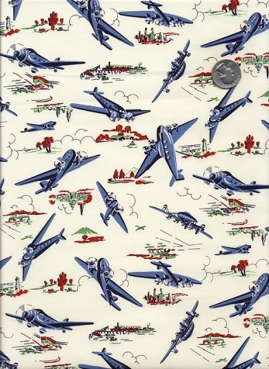 45 best airplane fabric images on pinterest airplane for Childrens airplane fabric
