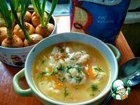Венгерский суп с сырными клецками Рис