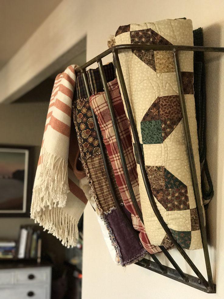 17 Best Ideas About Blanket Storage On Pinterest Diy