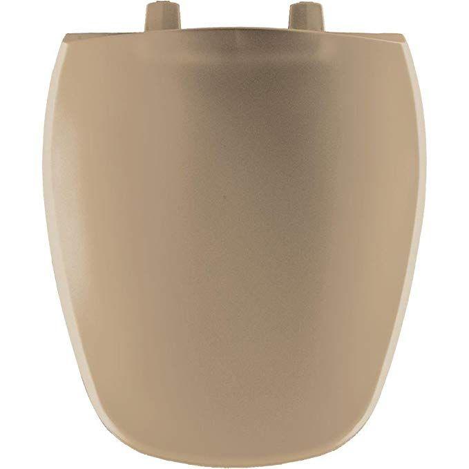 Bemis 1240200 148 Eljer Emblem Plastic Round Toilet Seat