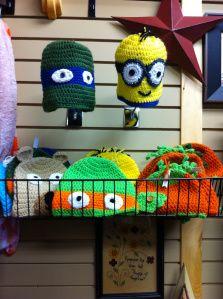 Brenda's crochet hats