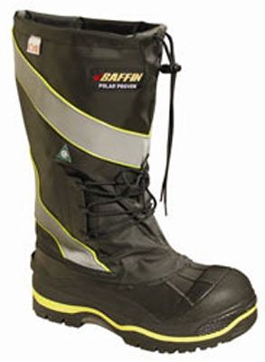 Baffin Inc.: Insulated PAC Boots : Polar Safety Derrick Extreme Cold Weather Knee Boots with Metal-Free Composite Safety Toe - Rated to -148°F (-100°C)-Cold Weather Workwear / Warm Weather Workwear: Cooling Vests, Hi Vis Jackets, FR-AR Workwear, Arc Flash