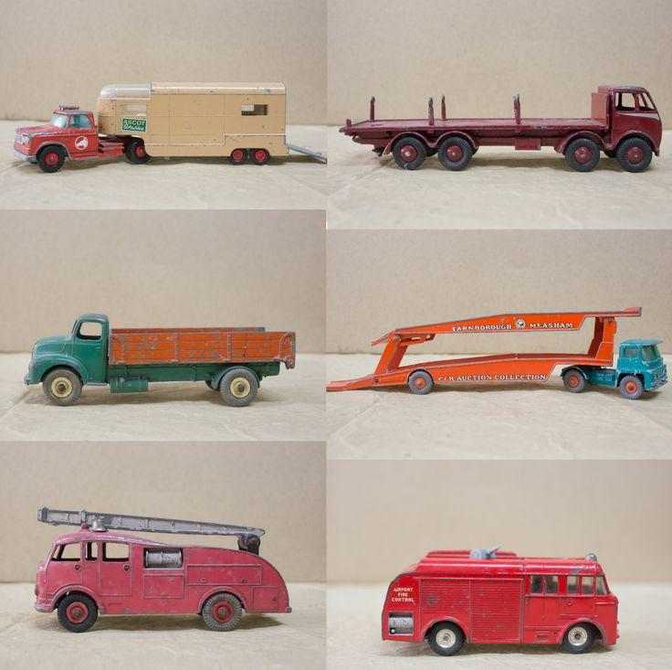 old DINKY trucks