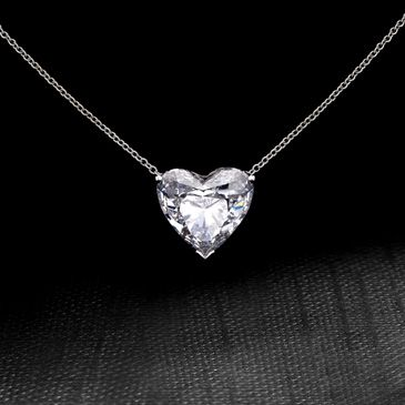 Dear future boyfriend.... Heart cut diamond necklace!