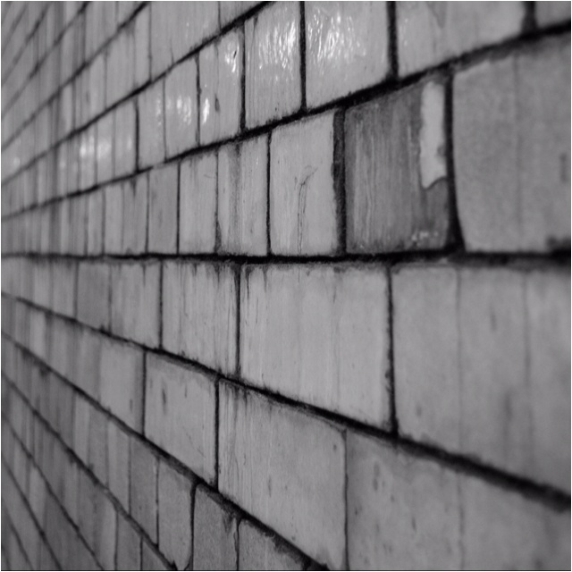 Underpass wall, south kensington, London