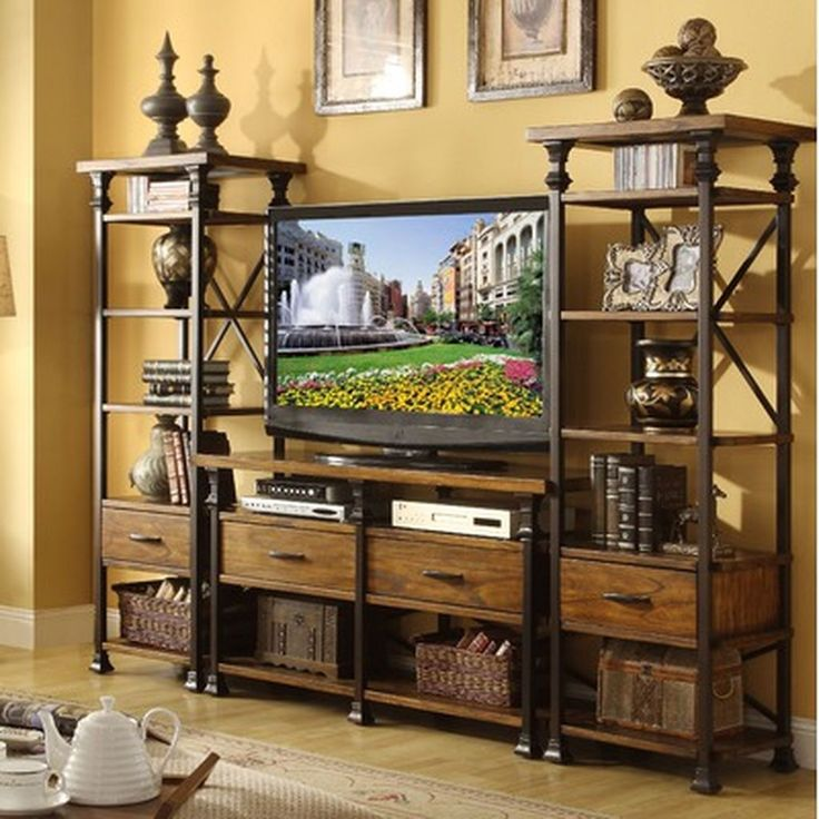 Adorable 40 Best Home Entertainment Centers Ideas for The Better Life https://homearchite.com/2017/06/05/40-best-home-entertainment-centers-ideas-better-life/