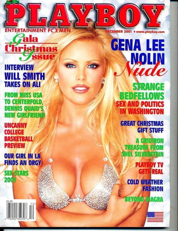 Playboy December 2001 Gena Nolin  Bebe Buell  Shanna Moakler  Will Smith  - VG
