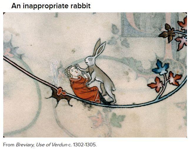 Weird medieval illustrations