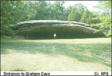 Public Caves in Missouri | National Historic Landmarks Program (NHL) Graham Cave is very interesting in the Indian artifacts that were found there. Saw this cave in the early 1980's. Located mid Missouri, close to Interstate 70.