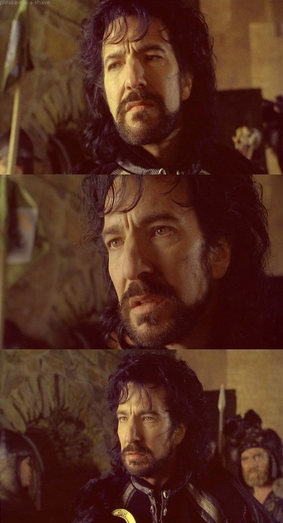 Robin Hood: Prince of Thieves. Alan Rickman as the Sheriff George of Nottingham