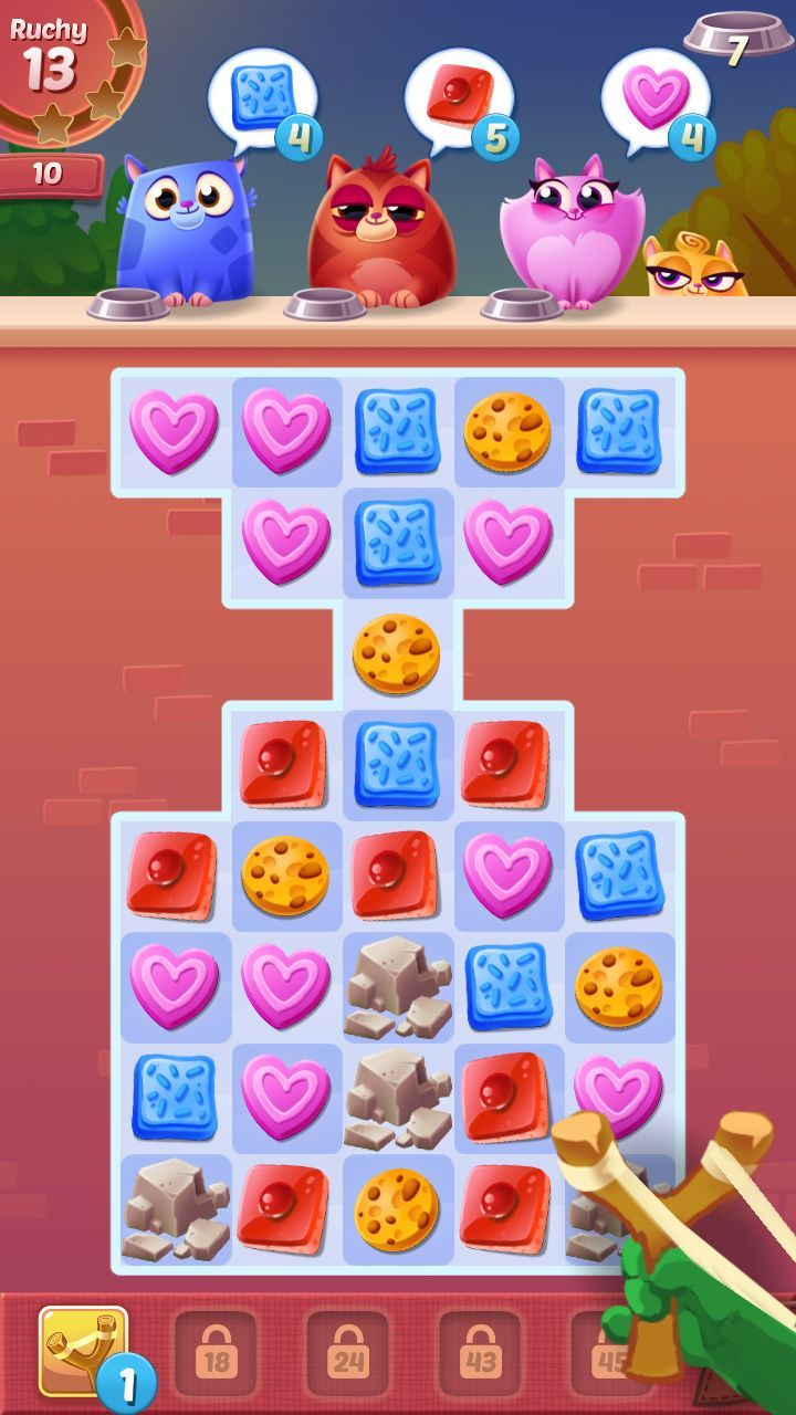 Match 3 mobile game for kids – GUI