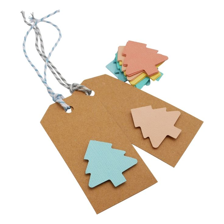 Christmas in #HTFStyle DIY Christmas gift tag kit in pastel and kraft
