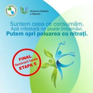 Finalizare seminarii locale- etapa a5-a din cadrul campaniei de informare si sensibilizare a proiectului CONTROLUL INTEGRAT AL POLUARII CU N...