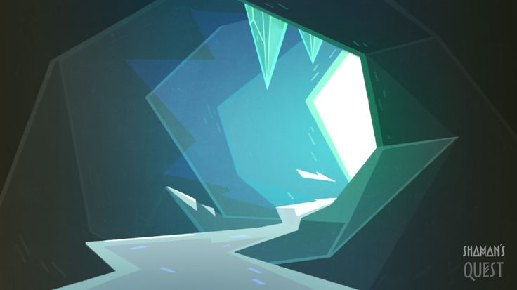 Background's concept by Polina Tsareva #animation #background