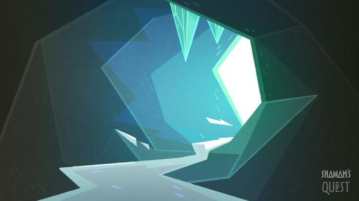 Background's concept by Polina Tsareva #animation #background