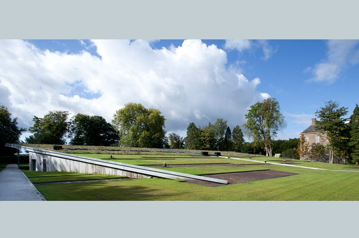 Landscape architecture vegitation roof