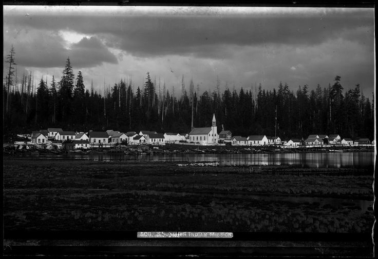 View of Squamish Indian Mission VPL Accession Number: 19944 Date: 189- Photographer / Studio: Bailey Bros. Content: see also 13535 written on image '508. Squamish Indian Mission'. http://www3.vpl.ca/spe/histphotos/