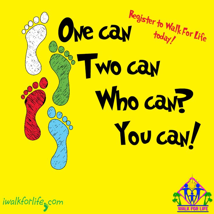 One can. Two can. Who can? You can! Register online today ...