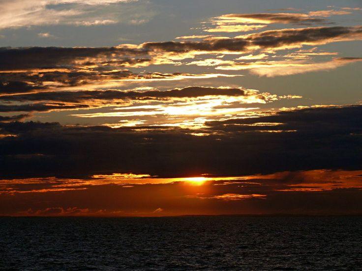 Sunrise over the Kattegat