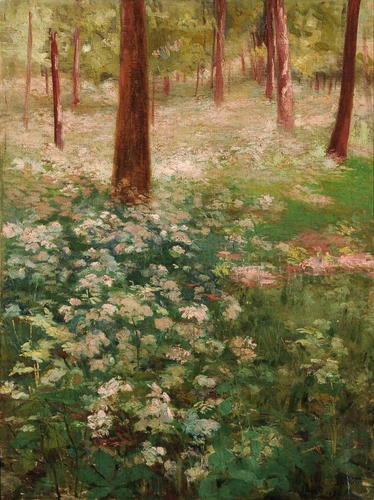 Primavera, 1885, Eliseu Visconti