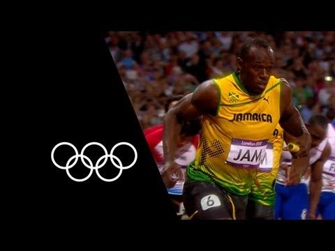 Jamaica Break 4x100m World Record At London 2012 | Olympic Records