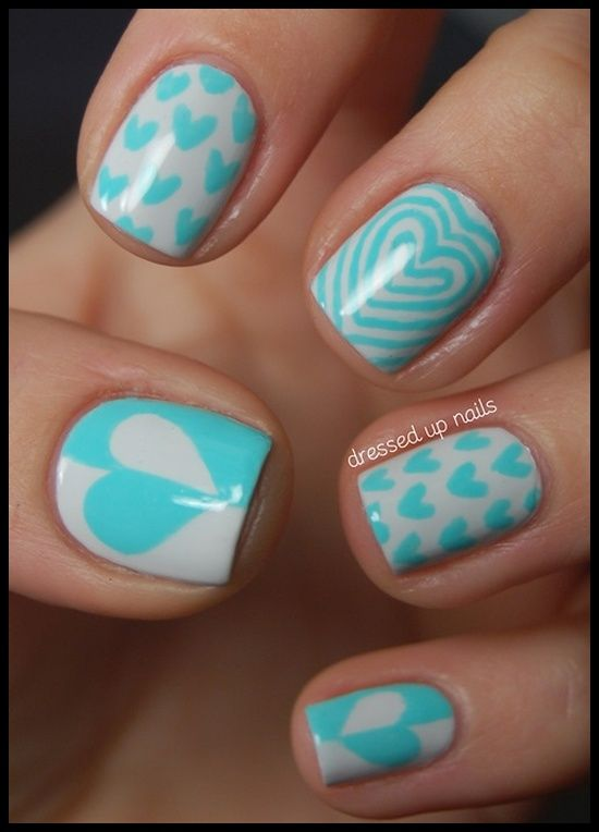 30 Amazing Easy Nail Art Ideas | MyMagicMix