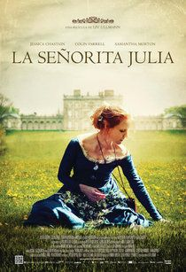 Cartel de Miss Julie