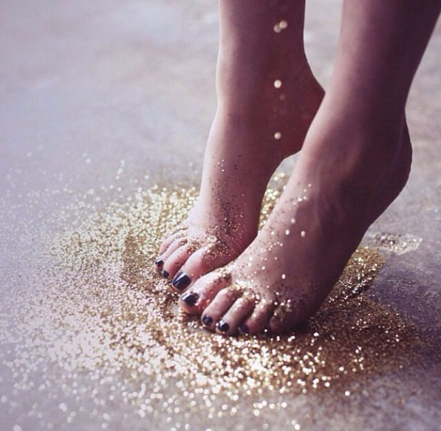 Leave a trail of glitter wherever you go. #SparkleOn