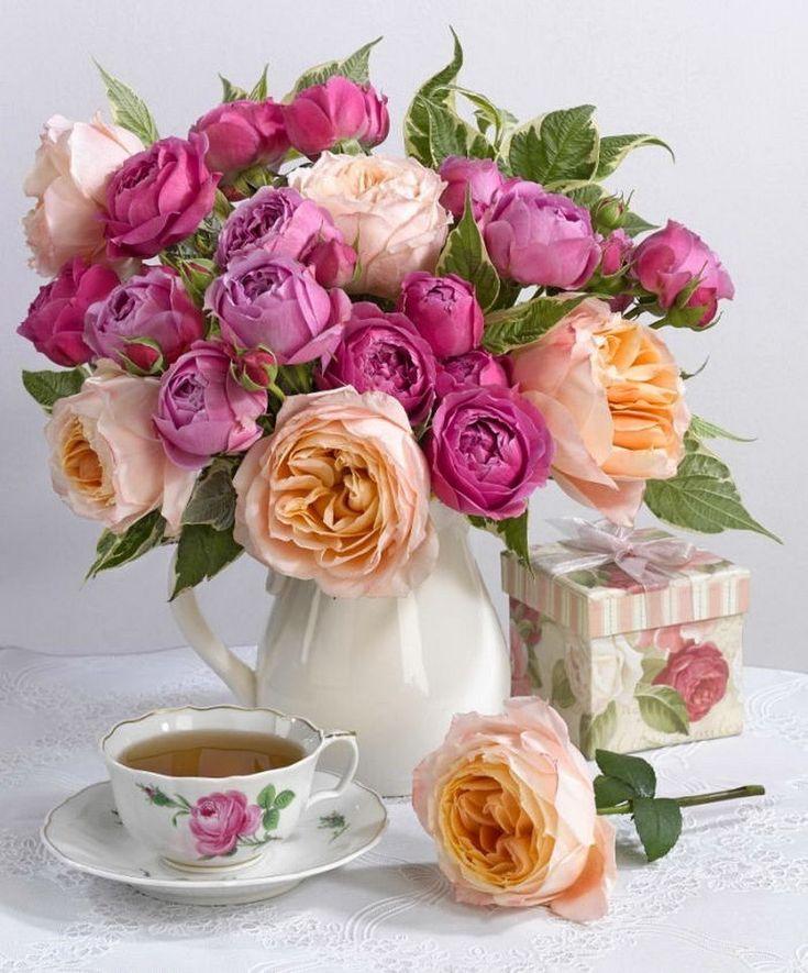 Открытки цветы, картинки цветы для хорошего настроения