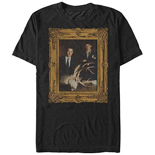 Twin Peaks Deer Head Frame Mens Graphic T Shirt Fifth Sun