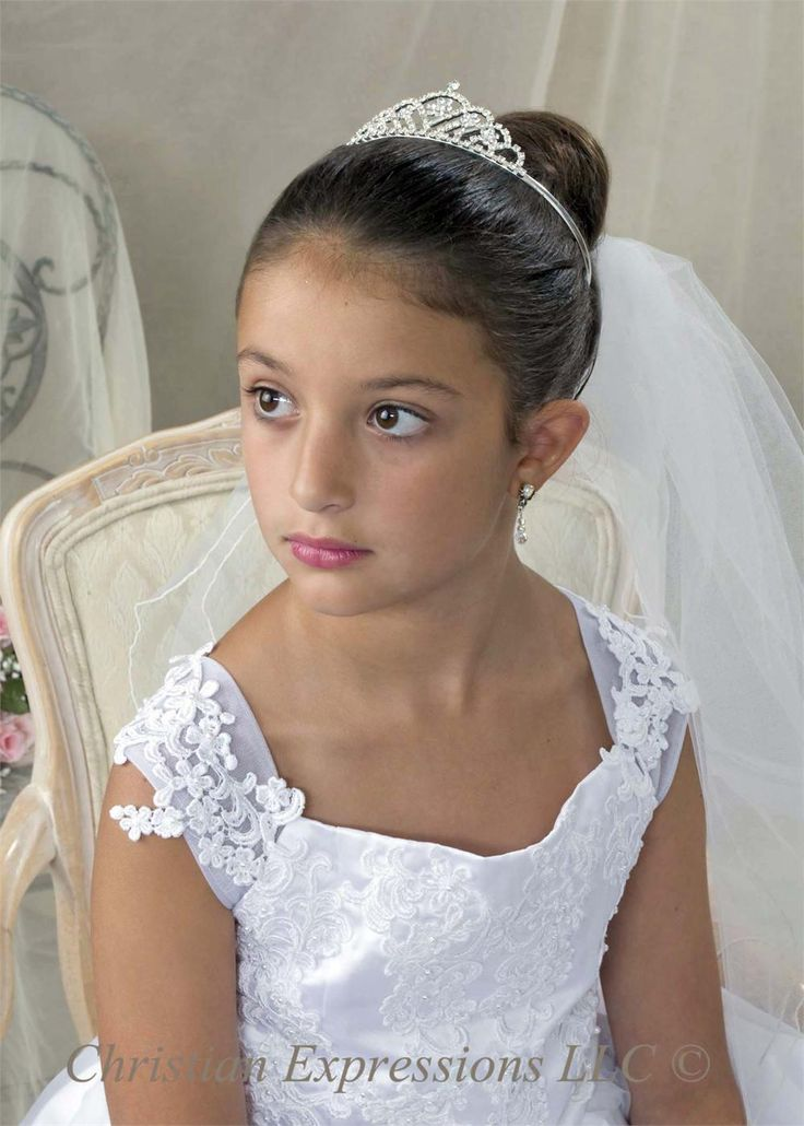 17 Best images about Updo first communion on Pinterest ...