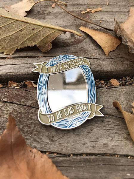 I Have Nothing enamel pin – SHOPIMMUNITY