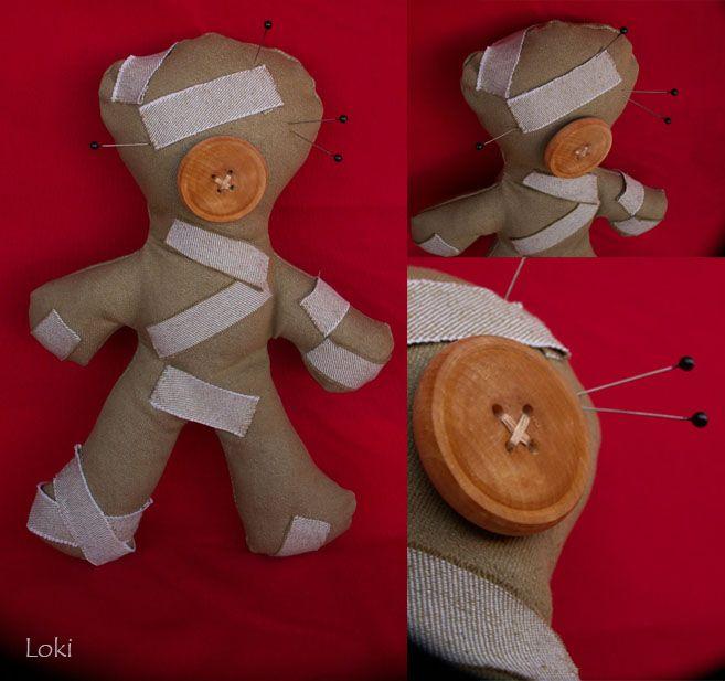 Плюшевая Кукла вуду. Автор: loki