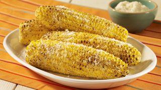 ReadySetEat - Parmesan Garlic Grilled Corn - Recipes