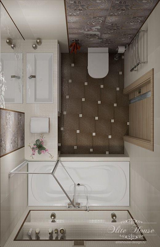 Квартира, г. Новосибирск, ул. Большевистская, ЖК Европейский Берег. Ванная