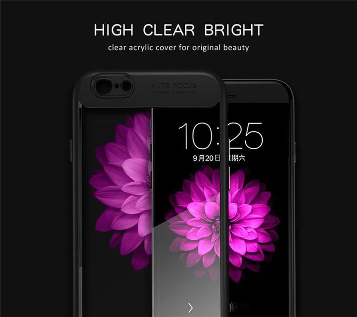 Transparent Soft ... just arrived to our store! Check it out here http://www.phonecasesplaza.com/products/ipaky-for-apple-iphone-6s-case-soft-silicone-frame-hard-transparent-back-cover-for-iphone-6-6s-plus-7-7plus-8-plus-phone-cases?utm_campaign=social_autopilot&utm_source=pin&utm_medium=pin