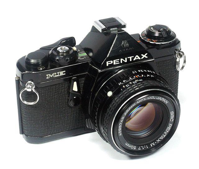Asahi Pentax Me 1976年 Smc Pentax M 50mm F1 7 Slr Camera Photo Lens Pentax