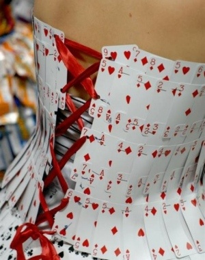 cards Corset... Very Cool