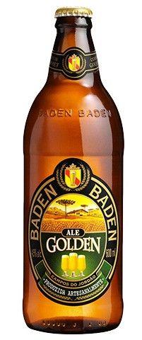 Cerveja Baden Baden Golden Ale, estilo Cream Ale, produzida por Baden Baden, Brasil. 4.5% ABV de álcool.